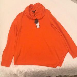 BCBG Maxazria  Cow Neck Merino Wool Waris Sweater